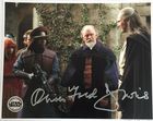 Oliver Ford Davies Sio Bibble Signed Star Wars Official Pix 10x8 Photo Autograph